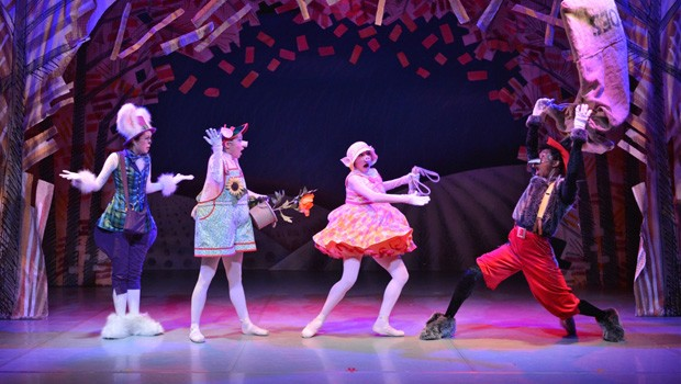 Bite-Sized Ballet: The Three Little Pigs