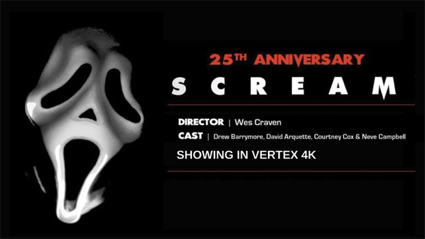 Scream 25th Anniversary in Vertex 4K