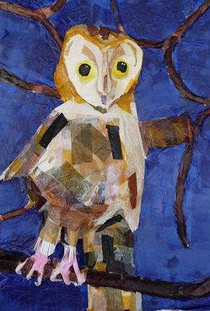 3D Owl Sculptures