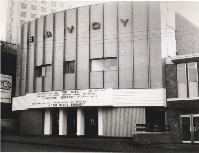 Savoy 1970's