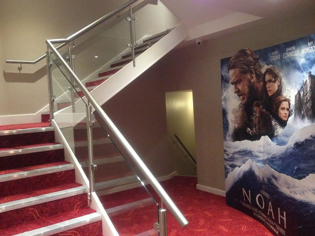 Stairs to Party Rooms
