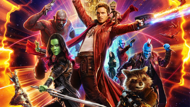 Guardians of the Galaxy Vol 2. 2D