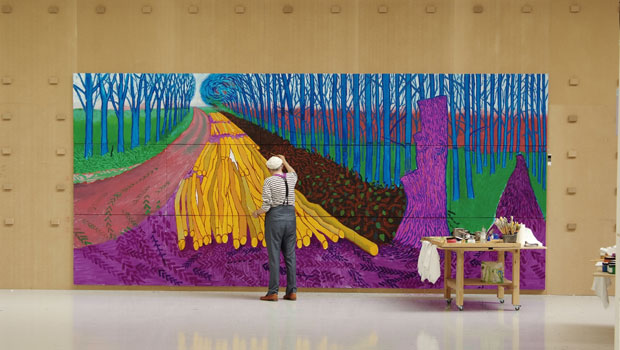 Exhibition on Screen - David Hockney At the Royal Academy of Art