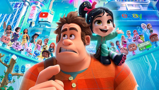 Ralph Breaks the Internet: Wreck it Ralph 2 3D