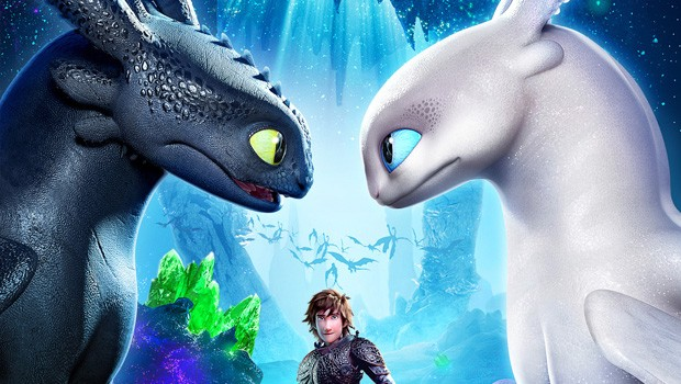 How to Train Your Dragon: The Hidden World 2D