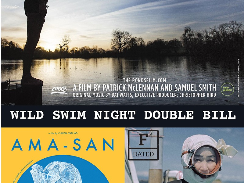 Double Bill - The Ponds/Ama-san