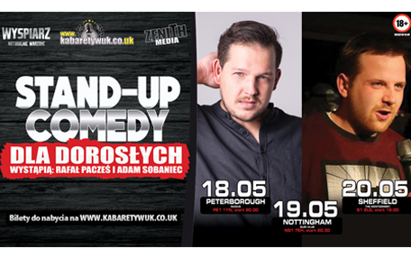 Stand-up Comedy: Rafal Paczes, Adam Sobaniec