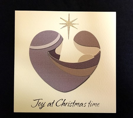 Christmas Cards - Away in a Manger