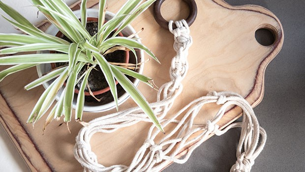 Do. Make. Mend: Make a Macrame Plant Hanger