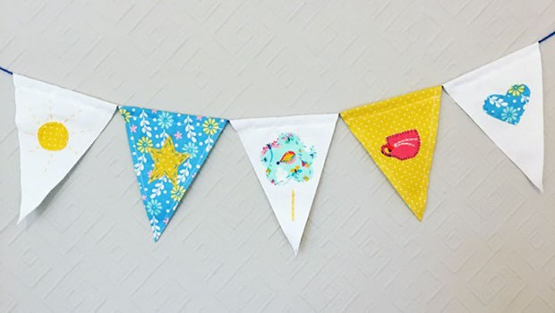 Do. Make. Mend: Create Upcycled Bedtime Bunting