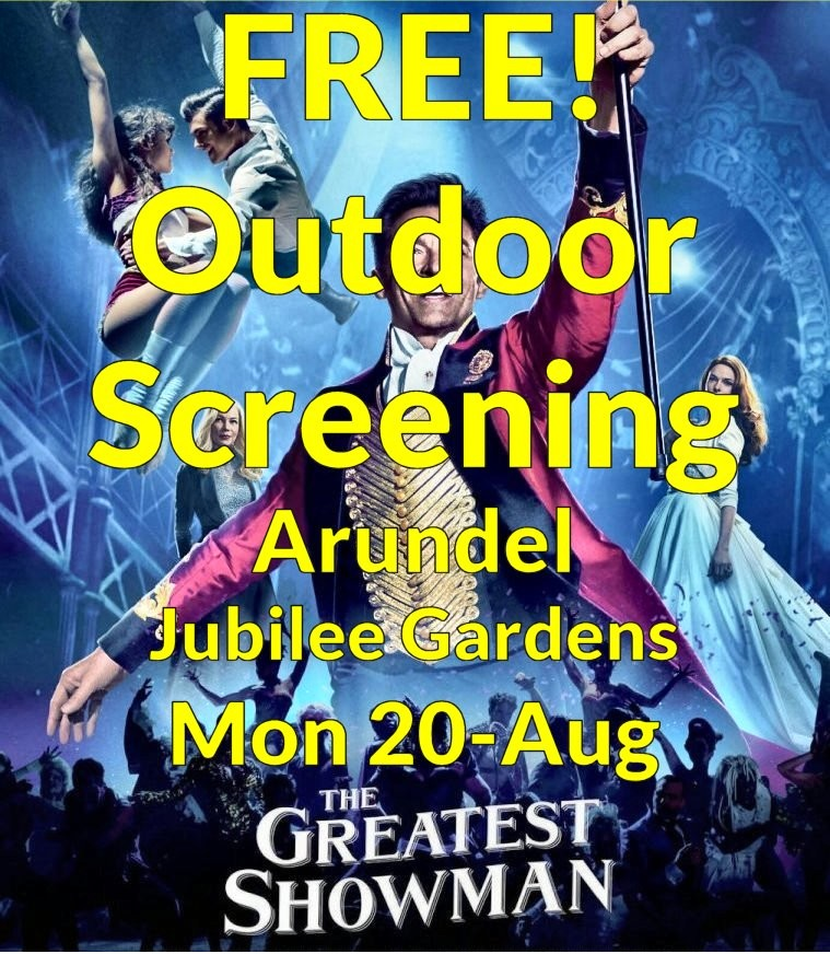 Greatest Showman - FREE OUTDOOR SCREENING