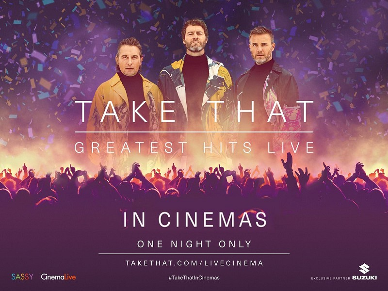 TAKE THAT - GREATEST HITS CONCERT