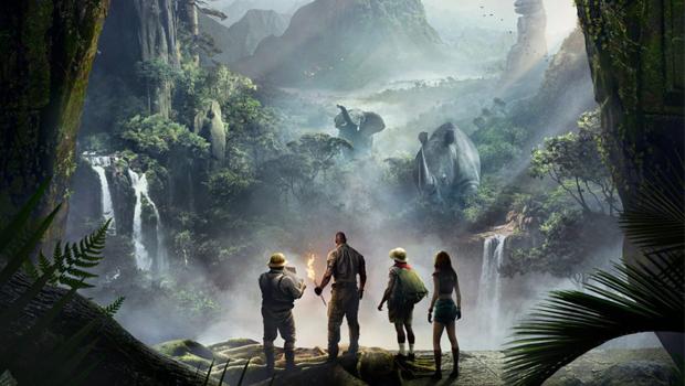 Jumanji: Welcome to the Jungle 2D