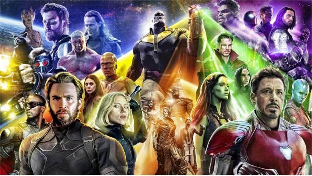 Avengers Infinity War 3D