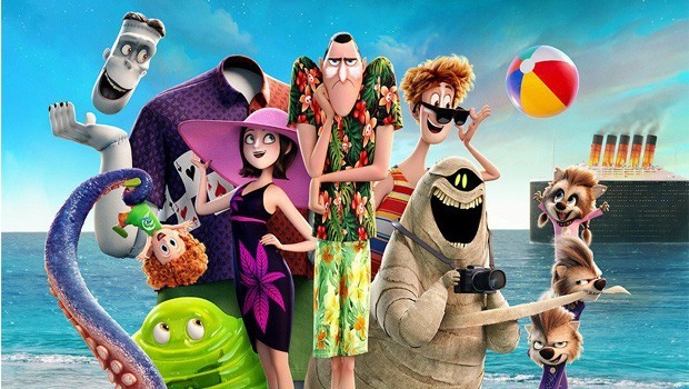 Hotel Transylvania 3: A Monsters Vacation 2D