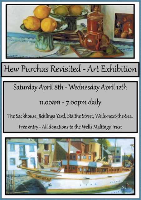 ART EXHIBITION : HEW PURCHAS REVISITED