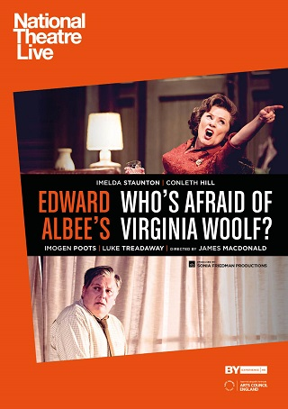 WHO'S AFRAID OF VIRGINIA WOOLF?  NT LIVE RECORDED